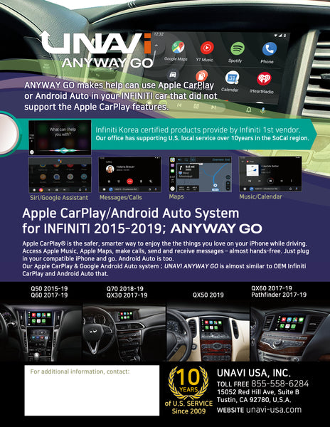 carplay or android auto for nissan pathfinder