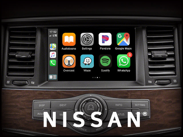 Apple CarPlay for Nissan Armada 2018-2020 | Android Auto module upgrade retrofit