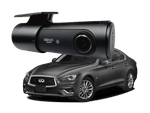 INFINITI Dedicated | Unavi UGD521 | 2K QHD | Built-in Wi-Fi | GPS Compatible |  1-CH | 32 GB SD Card