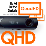 UNAVI UGD621 | 2 Channel Dash Cam | 2K QHD | Built-in Wi-Fi | GPS Compatible | 32 GB SD Card - Unavi USA, Inc.