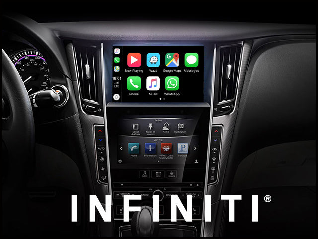 Apple CarPlay for INFINITI Q50 2014-2019 | Android Auto Module Update Retrofit