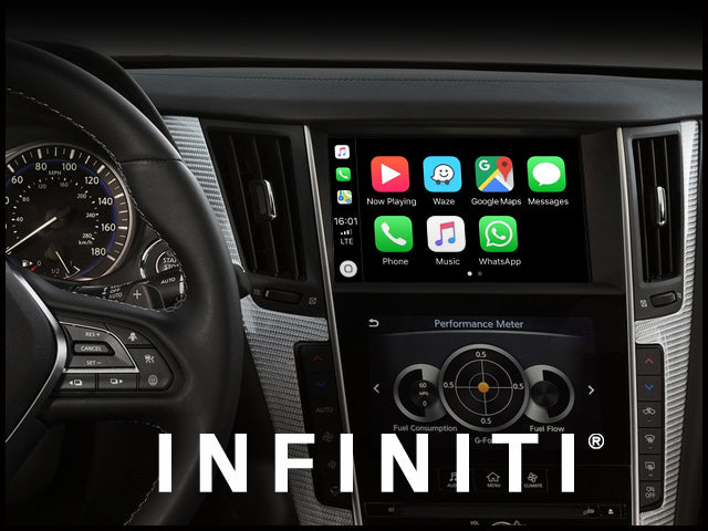 Apple CarPlay for INFINITI Q60 2017-2019 | Android Auto Module Update Retrofit