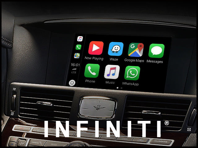 Apple CarPlay for INFINITI Q70 2018-2019 | Android Auto Update Module