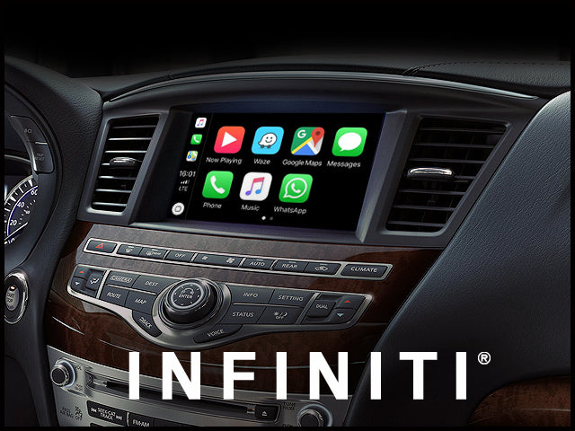 Apple CarPlay for INFINITI QX60 2017-2020 | Android Auto Update Module
