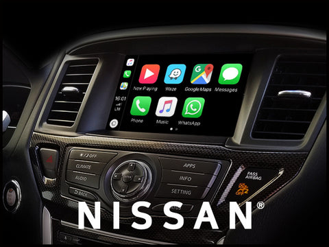 Apple CarPlay for Nissan Pathfinder 2017-2020 | Android Auto Update Module