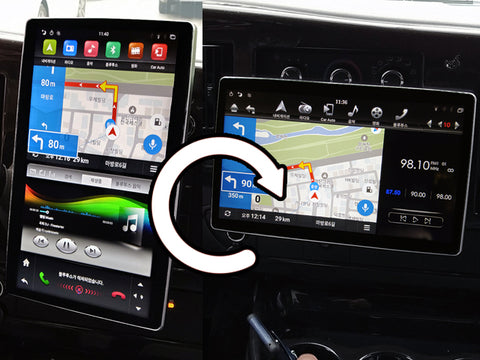 UNAVI T2 All-in-one Android OS built-in in-dash type Navigation