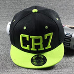 CR7 Youth Hat Yellow & Black