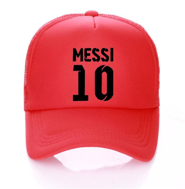 Messi #10 Adult Snapback Hat