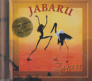 Zyan album Jabaru DIGITAL DOWNLOAD