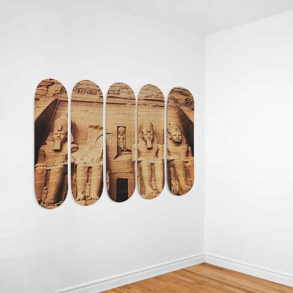 5-Skateboards Wall Decor