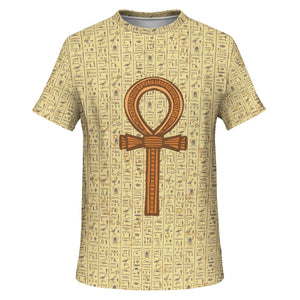 Ankh Egyptian T-shirt all-over print - Pharao Store