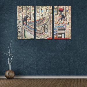 Egyptian Wall Art 3 Canvas Print - Pharao Store