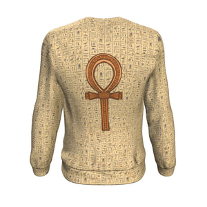 Ankh Egyptian Sweatshirt all-over print - Pharao Store