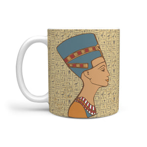 Nefertiti Ancient Egyptian Mug - Pharao Store