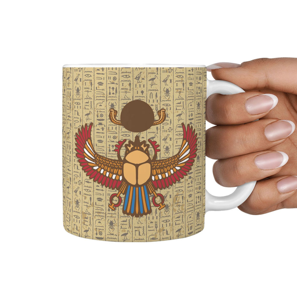 Scarab Ancient Egyptian Mug - Pharao Store