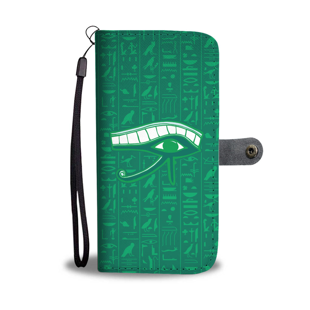 Eye of Horus Ancient Egyptian Wallet Case - Pharao Store
