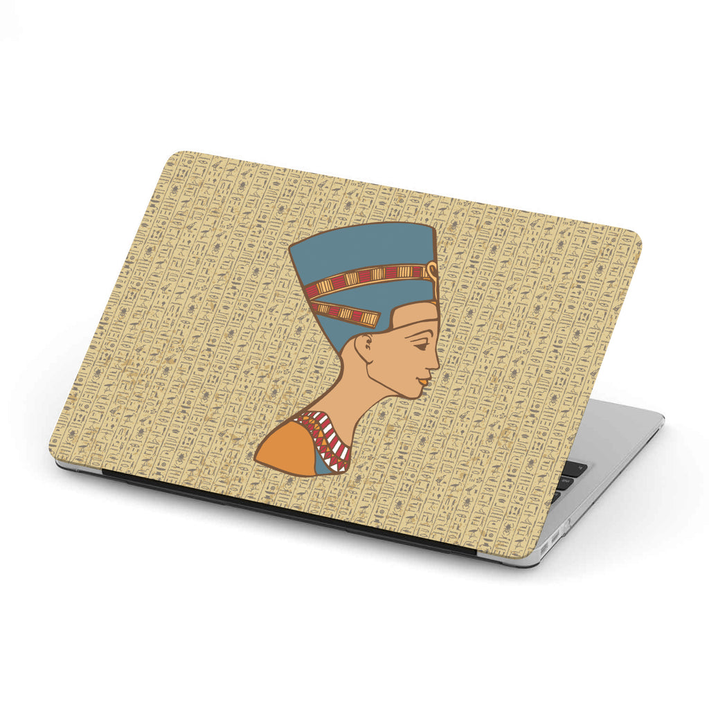 Nefertiti Ancient Egyptian MacBook Case - Pharao Store