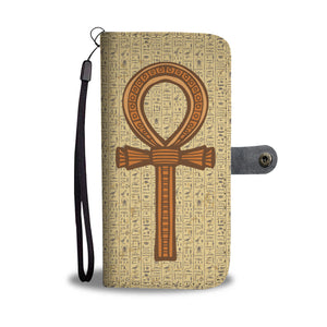 Ankh Ancient Egyptian Wallet Case - Pharao Store