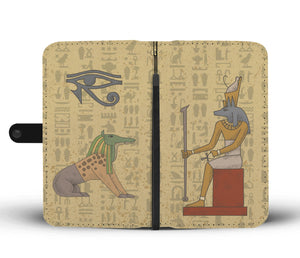 Ancient Egyptian Wallet Case - Pharao Store