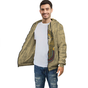 King Tut Egyptian Zip Hoodie all-over print - Pharao Store