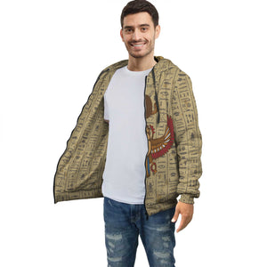 Scarab Egyptian Zip Hoodie all-over print
