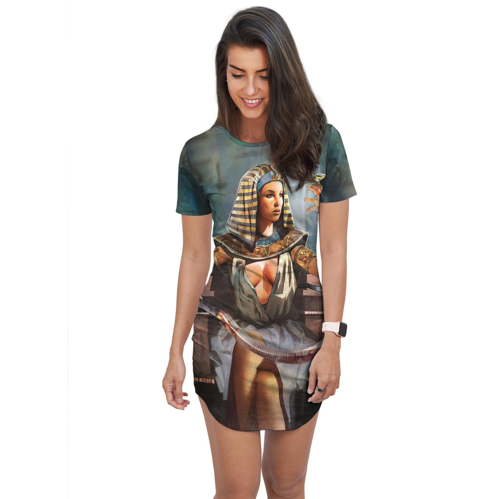 Ancient Egyptian T-Shirt Dress - Pharao Store