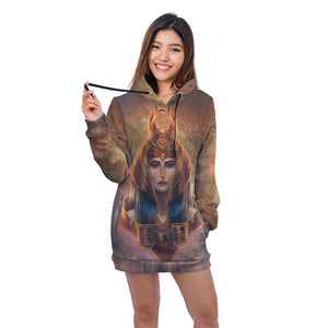 Ancient Egyptian Hoodie Dress - Pharao Store