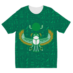 Scarab Egyptian Kids T-shirt all-over print - Pharao Store