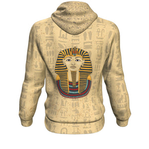 King Tut Egyptian Hoodie all-over print - Pharao Store