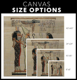 Egyptian Canvas Wall Art (ٍSquare) - Pharao Store