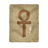 Ankh Egyptian Baby Blanket