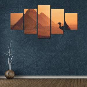 Egyptian Wall Art 5 Canvas Print - Pharao Store