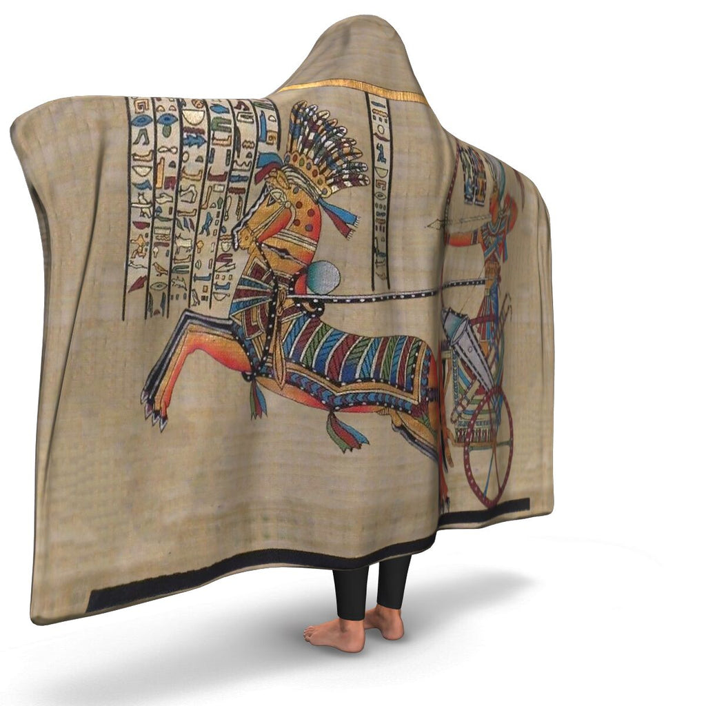 Ancient Egyptian Hooded Blanket - Pharao Store