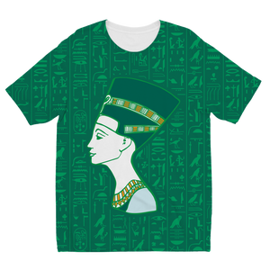Nefertiti Egyptian Kids T-shirt all-over print - Pharao Store