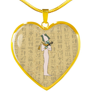 Ancient Egyptian Necklace Heart - Pharao Store