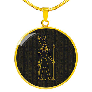 Ancient Egyptian Necklace Circle - Pharao Store