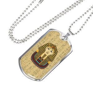 King Tut Ancient Egyptian Dog Tag - Pharao Store