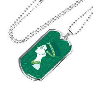 Nefertiti Ancient Egyptian Dog Tag - Pharao Store