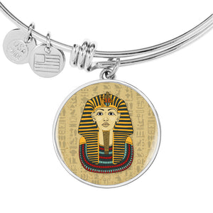 King Tut Circle Adjustable Egyptian Bangle - Pharao Store