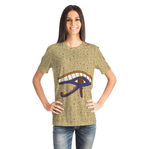 Eye of Horus Egyptian T-shirt all-over print - Pharao Store