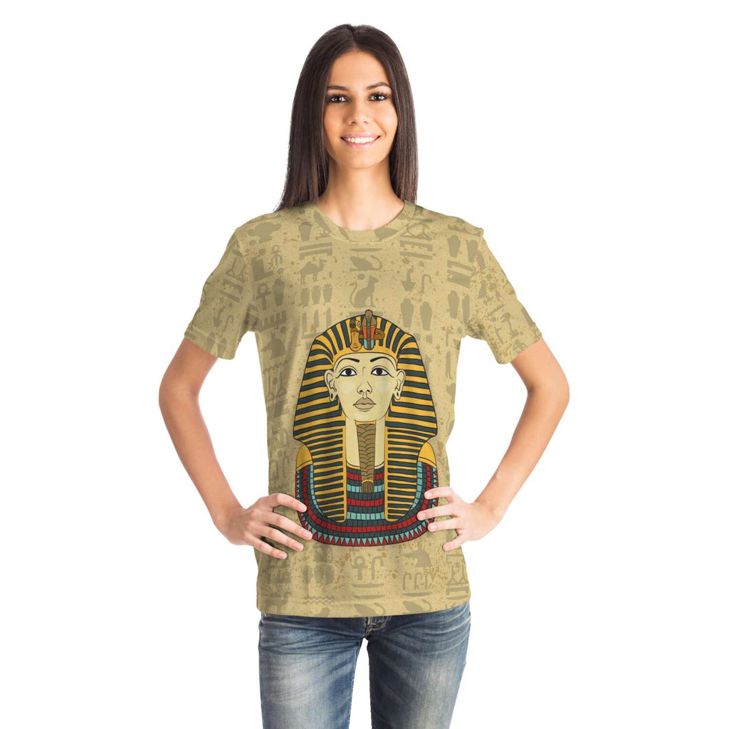 King Tut Egyptian T-shirt all-over print - Pharao Store