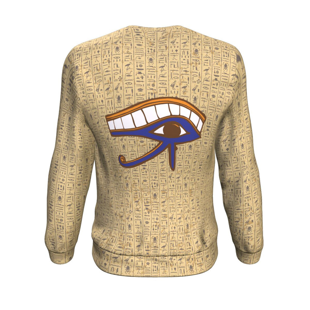Eye of Horus Egyptian Sweatshirt all-over print - Pharao Store