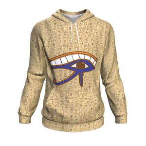 Eye of Horus Egyptian Hoodie all-over print - Pharao Store