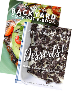 The Ultimate DESSERTS! & Backyard BUNDLE -BOGO!! LIMITED TIME OFFER!!!