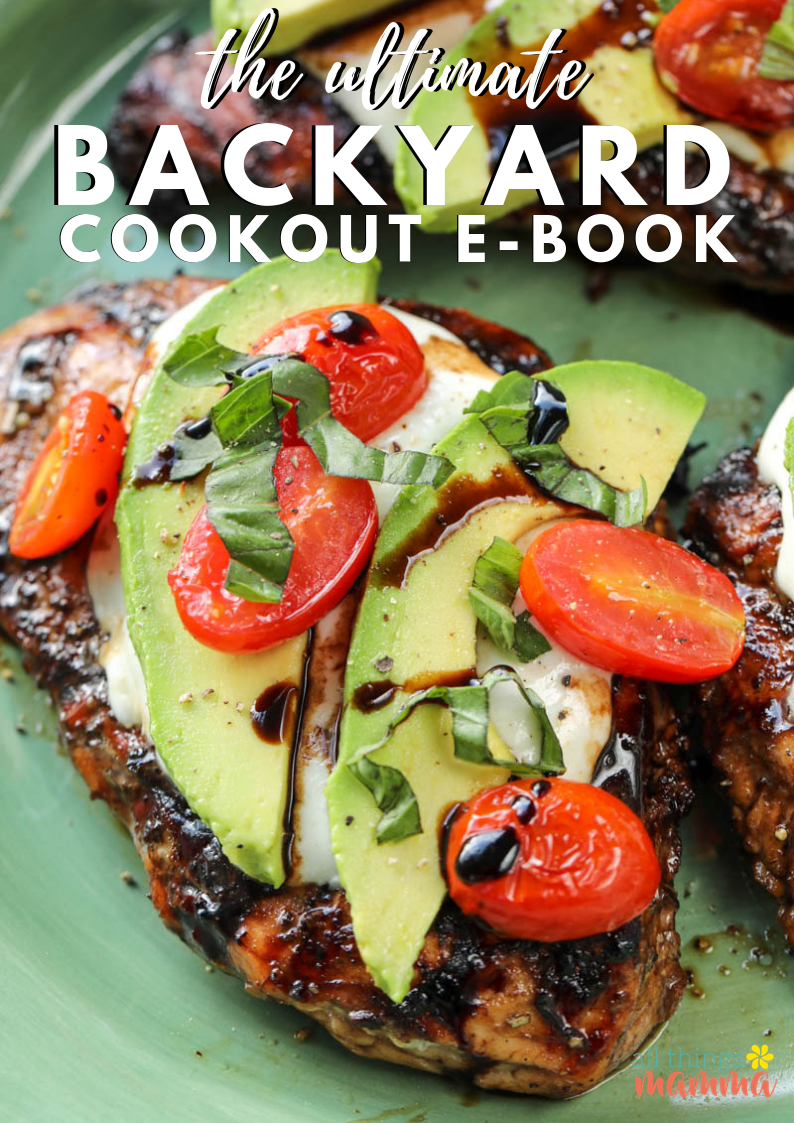The Ultimate Backyard Cookout E-Book