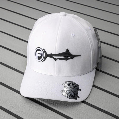 Signature Cap | White | Flex-fit