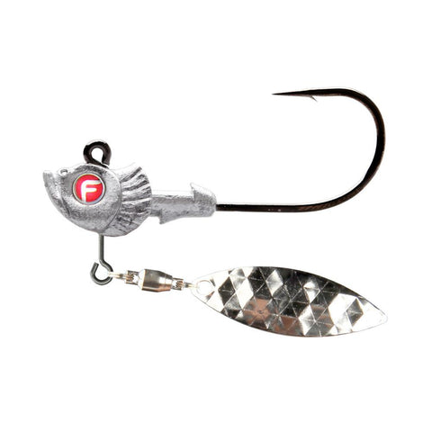 Pro-Select Belly Blade Jig Heads silver