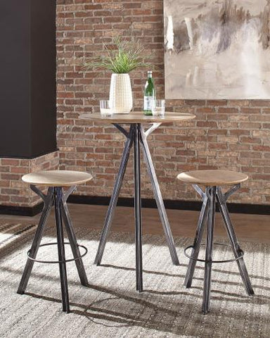 Natural Stone Bar Height Dining Table