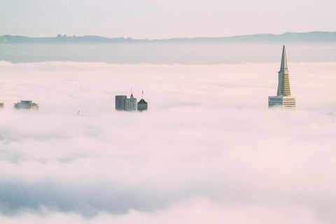 Fog Layer. Taken by SF based photographer Joe Keefe Available in L, XL and Grand.