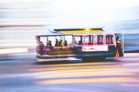 Cable Car. Taken by SF based photographer Joe Keefe Available in L, XL and Grand.